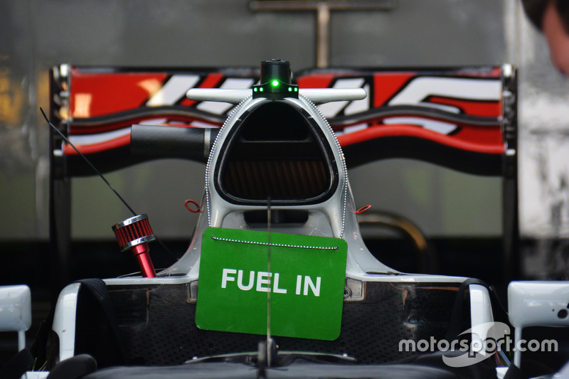 Haas F1 Team VF-16, Airbox