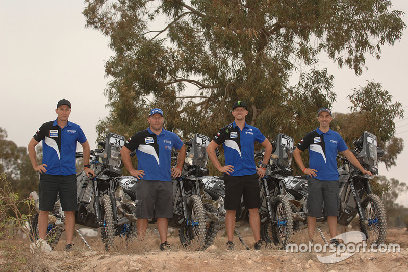Adrien Van Beveren, Yamaha; Rodney Faggotter, Yamaha; Alessandro Botturi, Yamaha; Helder Rodrigues,