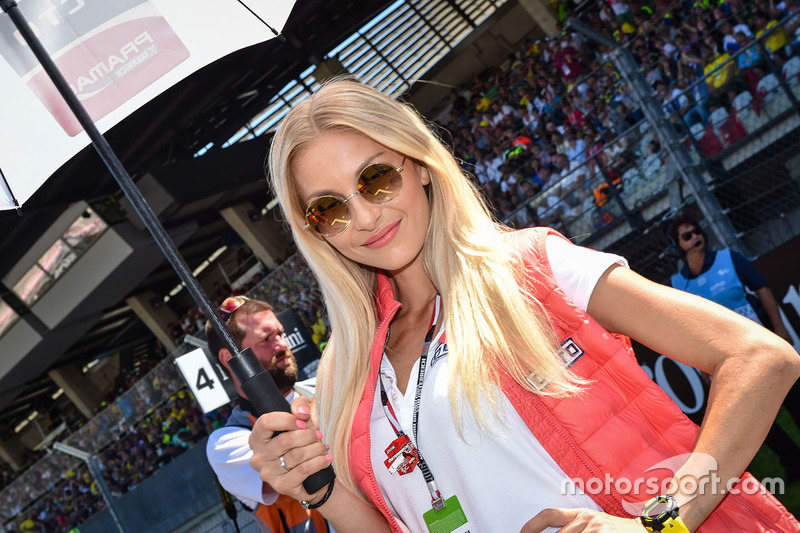 Lovely Pramac Racing girl
