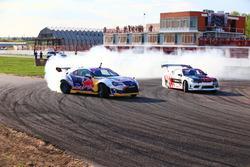 Екатерина Седых, Nissan Silvia S15 и Никита Шиков, Toyota GT86