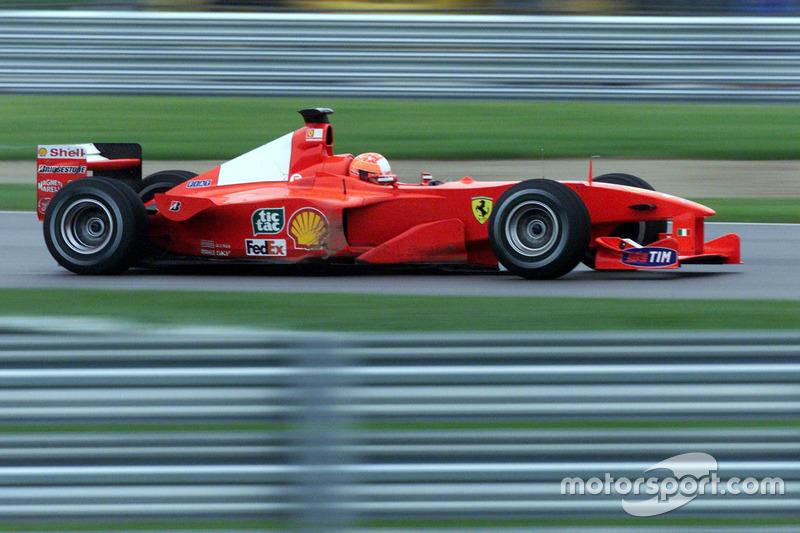 2000 Amerika GP, Ferrari F1-2000