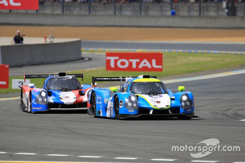 #18 M Racing - YMR Ligier JPS3 - Nissan: Yann Ehrlacher, Romano Ricci