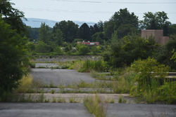 The abandoned Nazareth Speedway