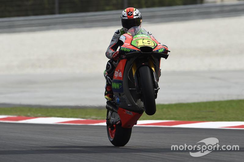 7. Alvaro Bautista, Aprilia Gresini Racing Team