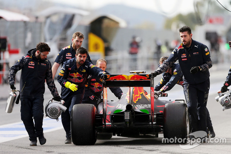 Heck, Red Bull Racing RB12