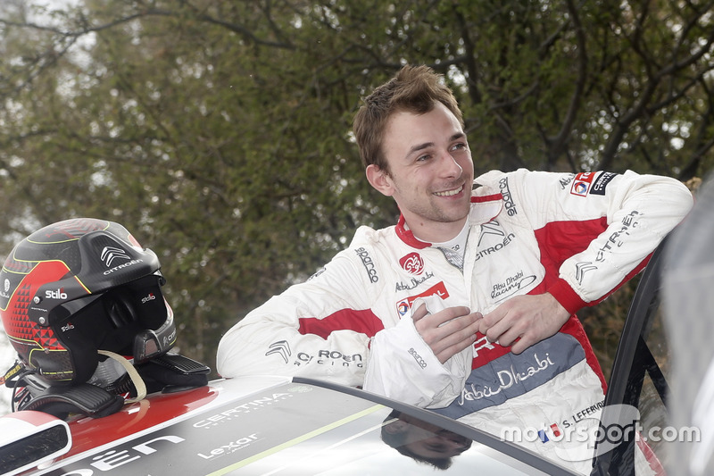 WRC. Самый молодой: Стефан Лефевр, Citroën Total Abu Dhabi WRT (25 лет)