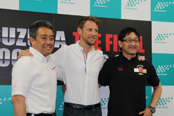 Pressekonferenz mit  Jenson Button