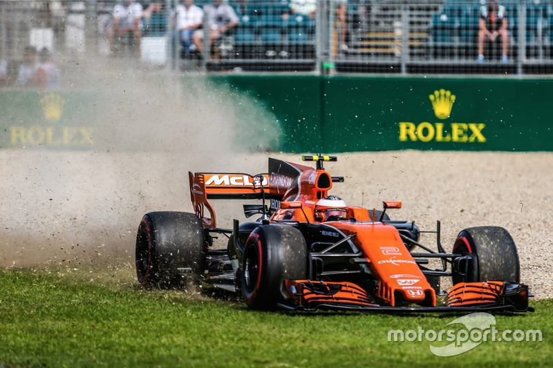 Abflug: Stoffel Vandoorne, McLaren MCL32