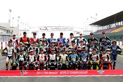 Line up de pilotos 2017 de Moto2