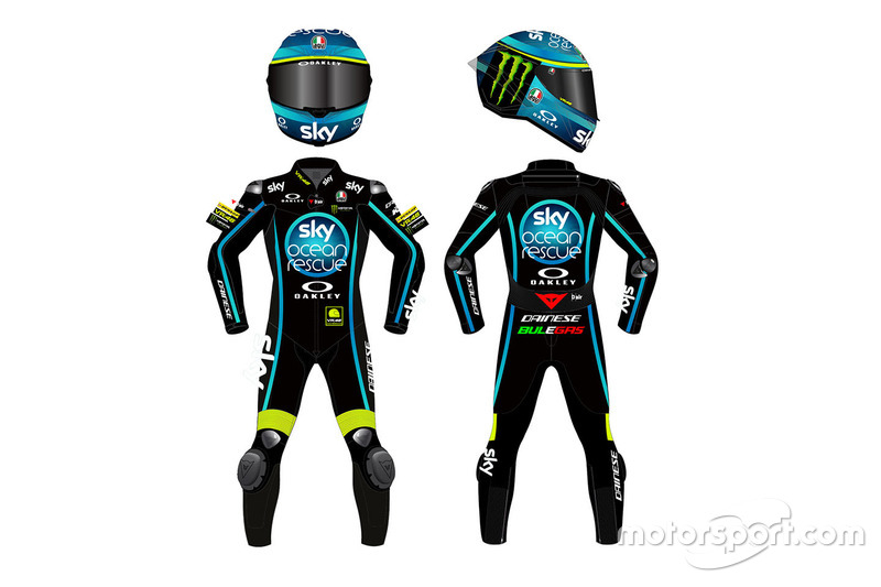 Sky Racing Team VR46 race suits