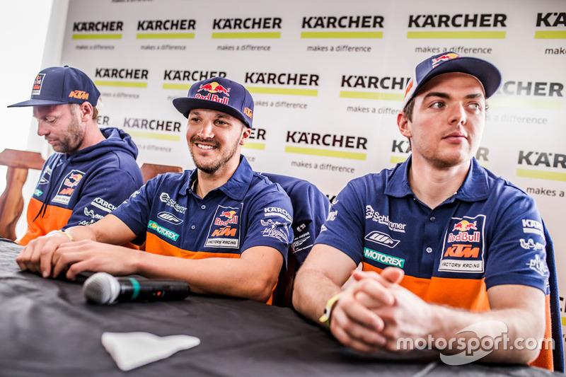 Alex Doringer, Red Bull KTM Factory Racing, Sam Sunderland, Red Bull KTM Factory Racing, Matthias Wa