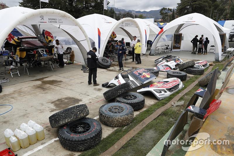 Peugeot Sport garages