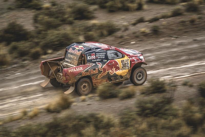 №302 Toyota Gazoo Racing Toyota: Жиньель де Вильерс и Дирк фон Цицевиц