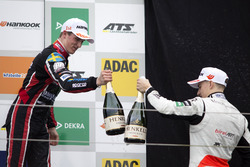 Podium: Joel Eriksson, Motopark, Dallara F317 - Volkswagen and Jake Hughes, Hitech Grand Prix, Dallara F317 – Mercedes-Benz