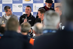 Martin Donnelly in the press conference