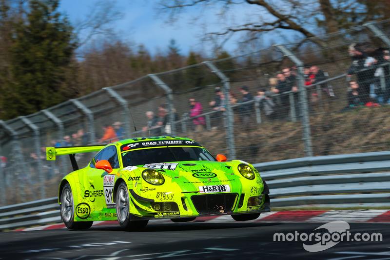 #911 Manthey Racing, Porsche 911 GT3 R: Romian Dumas, Frédéric Makowiecki, Patrick Pilet