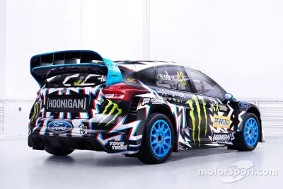 Diseño de imagen Hoonigan Racing Division