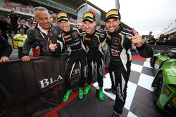 2017 champions #63 GRT Grasser Racing Team Lamborghini Huracan GT3: Christian Engelhart, Mirko Borto