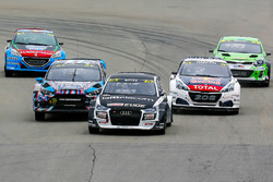 Reinis Nitiss, EKS Audi S1, Andreas Bakkerud, Hoonigan Racing Division Ford, Timmy Hansen, Team Peug