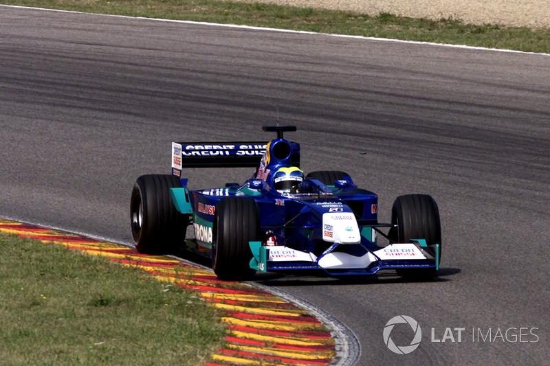 September 2001: Felipe Massa