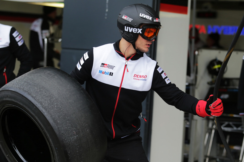 Team member of TOYOTA GAZOO Racing