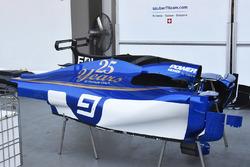 Sauber C36: Karosserie