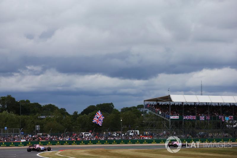 Естебан Окон, Серхіо Перес, Sahara Force India F1 VJM10