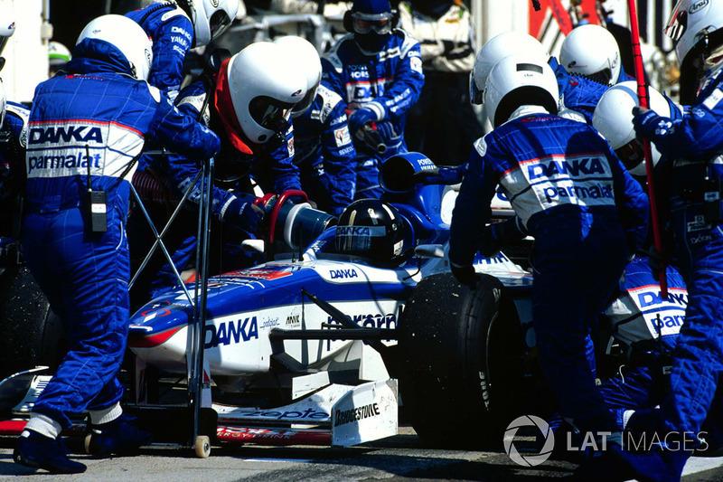 Дейон Хілл, Arrows A18 Yamaha