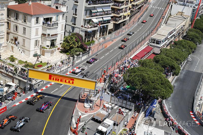 Mónaco: 200.000 espectadores; +0