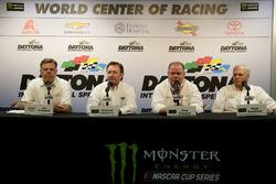 Jim Campell, Chevrolet; Richard Childress, Richard Childress Racin; Chip Ganassi, Chip Ganassi Racing; Rick Hendrick, Hendrick Motorsports