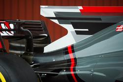 Haas F1 Team VF-17 rear detail