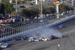Ricky Stenhouse Jr., Roush Fenway Racing Ford, Trevor Bayne, Roush Fenway Racing Ford crash
