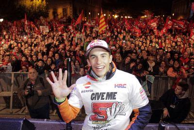 Marc Marquez Dünya Şampiyonluğu Kutlamaları