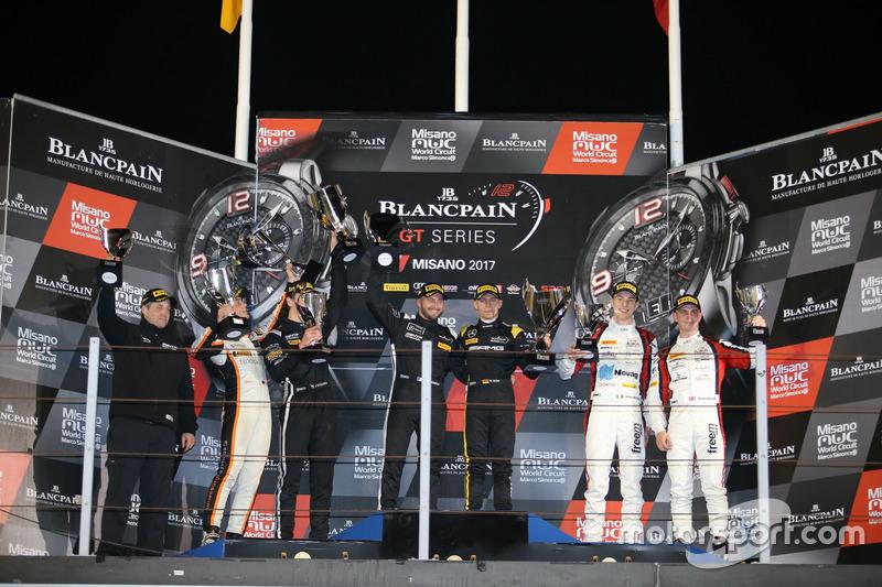Podium: 1. #84 Mercedes-AMG Team HTP Motorsport, Mercedes-AMG GT3: Maximilian Buhk, Franck Perera; 2. #85 Mercedes-AMG Team HTP Motorsport, Mercedes-AMG GT3: Fabian Schiller, Jules Szymkowiak; 3. #90 Akka ASP, Mercedes-AMG GT3: Michael Meadows, Raffaele Marciello
