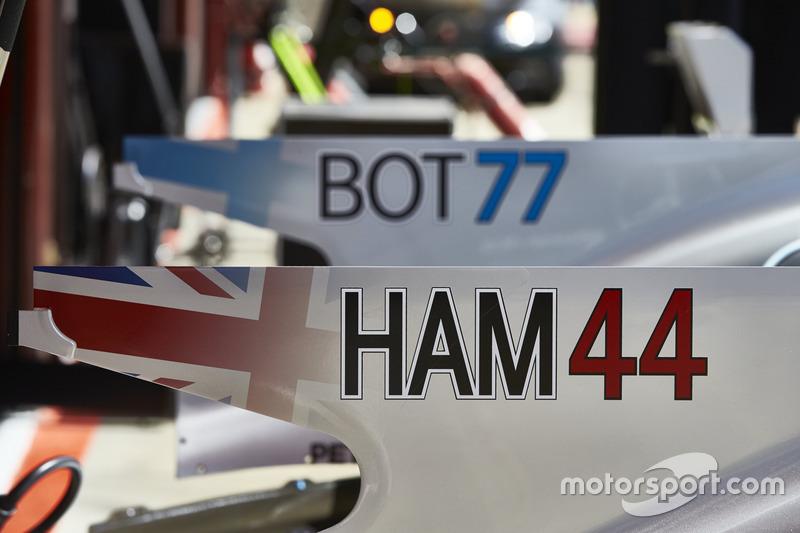 Mercedes AMG F1: Льюис Хэмилтон и Валттери Боттас