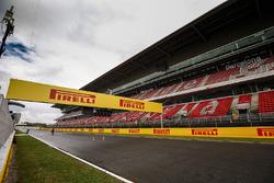Circuit de Barcelona-Catalunya im Regen