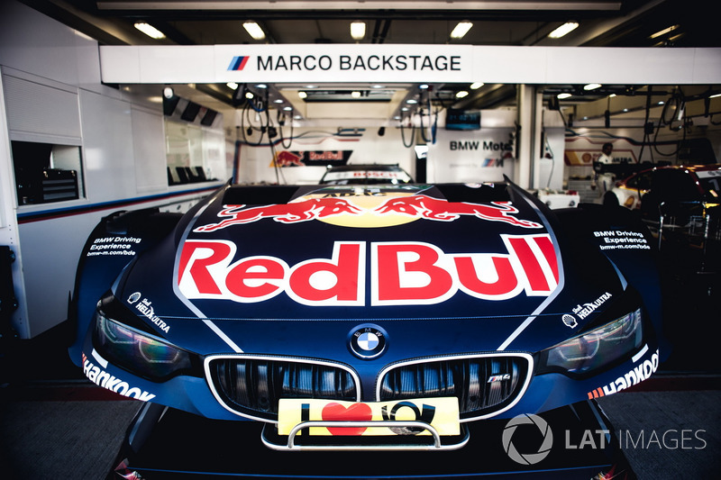 Detalle del coche de Marco Wittmann, BMW Team RMG, BMW M4 DTM