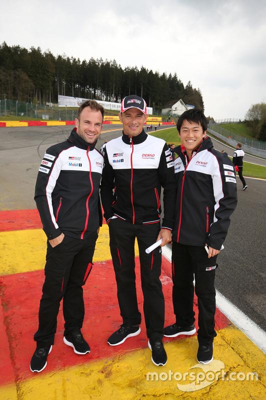 Stéphane Sarrazin, Yuji Kunimoto, Nicolas Lapierre, Toyota Gazoo Racing