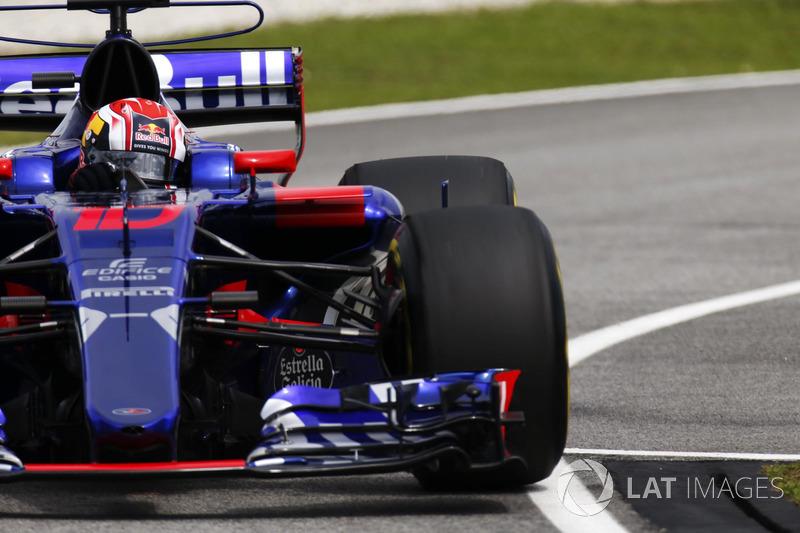 Pierre Gasly - GP de Malasia 2017 (14º)