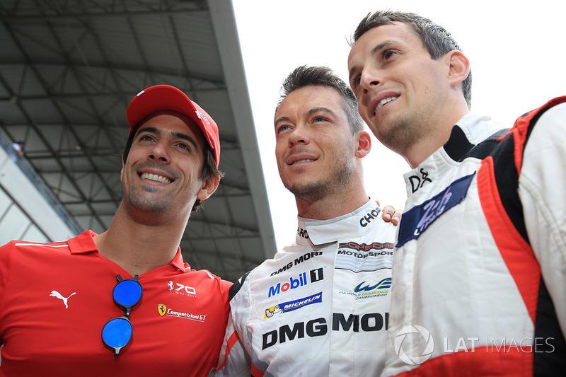 Lucas di Grassi, AF Corse, Andre Lotterer, Porsche Team, Oliver Jarvis, DC Racing