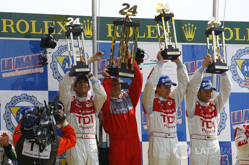 2006: Frank Biela, Emanuele Pirro, Marco Werner