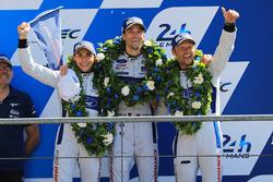 Podium GTE Pro: 2. Andy Priaulx, Harry Tincknell, Pipo Derani, Ford Chip Ganassi Racing
