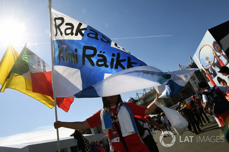 Kimi Raikkonen, Ferrari fans
