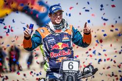 Победитель: №6 Red Bull KTM Factory Racing KTM: Маттиас Валькнер