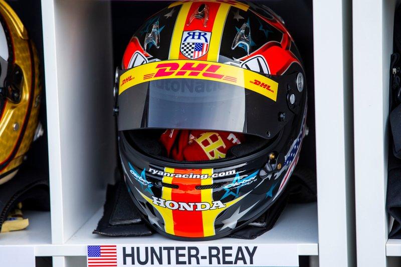 Le casque de Ryan Hunter-Reay