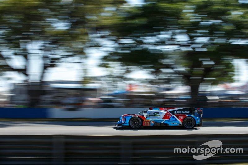 #11 SMP Racing BR Engineering BR1: Mikhail Aleshin, Vitaly Petrov, Brendon Hartley