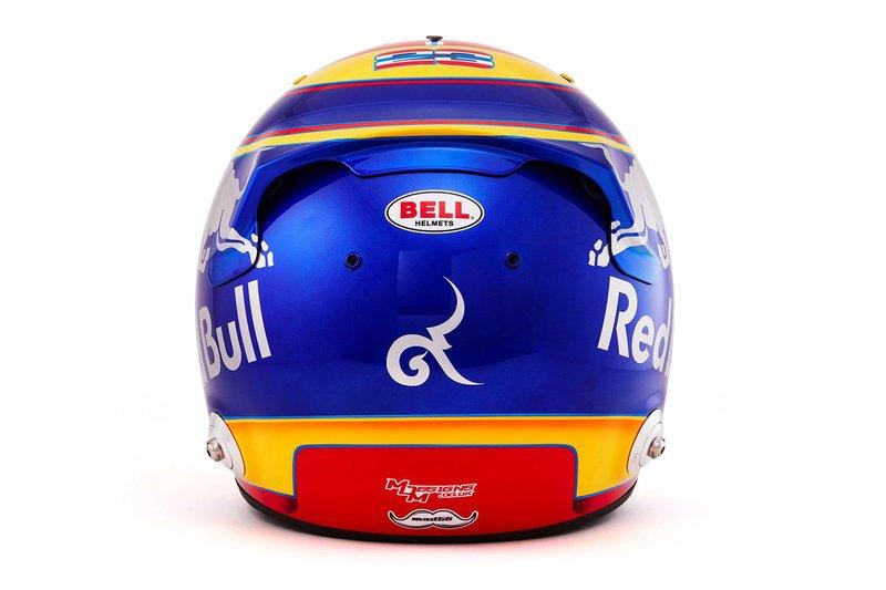 Шлем пилота Toro Rosso Александра Элбона