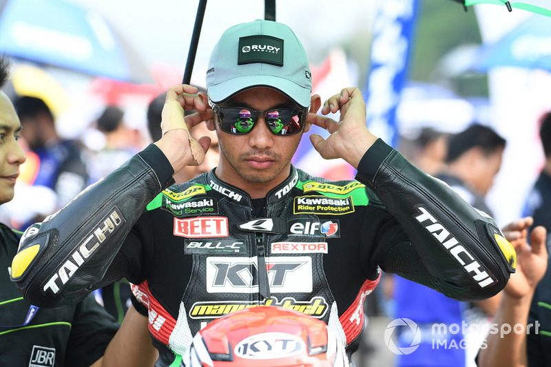 Ahmad Yudhistira, Manual Tech KYT Kawasaki Racing