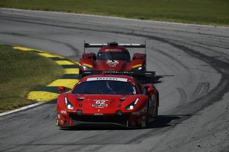 #62 Risi Competizione Ferrari 488 GTE, GTLM: Toni Vilander, Miguel Molina, Andrea Bertolini