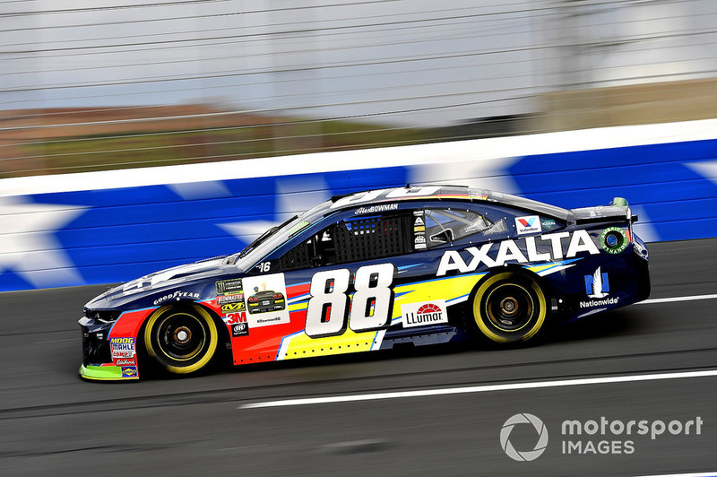 3. Alex Bowman, Hendrick Motorsports, Chevrolet Camaro Axalta